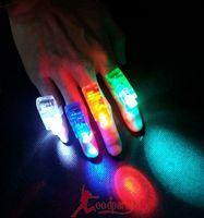 Light-up toy stick neon ball multicolour finger light led plastic light ring lamp
