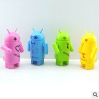 Free Shipping Android Robot USB Charge Fan Mini Fan