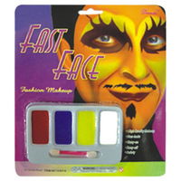 Masquerade halloween supplies pigment paint fans devil clown oil paint
