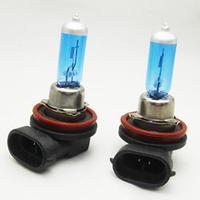 H11 12V 55W New Super White Light Bulbs 6000K 1 Pc Halogen Xenon Low Beam