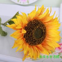 Big flower single head artificial flower large floor sunflower artificial flower decoration flower