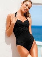 Hot sexy women swimwear one piece push up swimsuit high waisted S/M/L Free shipping