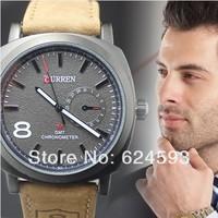 2014 Hot New Fashion Quartz Clocks Strap Watch Business Men'S Sports Watch