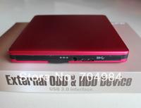 USB 3.0 External Bluray burn optical drive for Laoptop/PC BD-RE optical drive free shipping