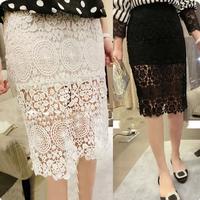 2014 New Fashion High-rGade Fabrics And Elegant Ladies Wind Straight Skirt