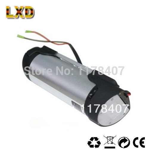 Free shipping water bottle battery 36v 12Ah E-Bike battery + charger(China (Mainland))