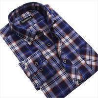 Fashion Brand Comfortable Soft Men's Shirts Slim Fit Long Sleeve Casual Shirts Men's Plaid Shirt