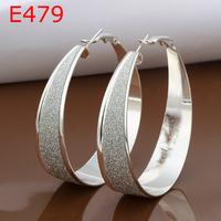 2014New arrival earrings E479 High Quality jewelry Fashion 925 Silver Plated earrings fashion  Earrings for Women