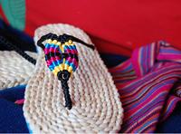 2014 New Beach Summer Green Slippers Eco-friendly Women's Male Straw Corn Husk Handmade Flip Flops Rome Tatbeb Linen Fashion Hot