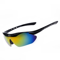 Mountain Cycling Riding Bicycle Bike Sports Glasses 5 Lens Eyewear Racing Sunglasses Men Women Goggle Polarized  oculos glasses