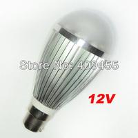 Wholesale(5pieces/lot)Led Bulb AC/DC 12V B22 9w 7w 6w 5w 4w 3w White light /Warm White Light LED Lamp