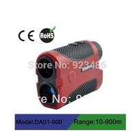 2014 Free shipping laser rangefinder binoculars 900m water resistant