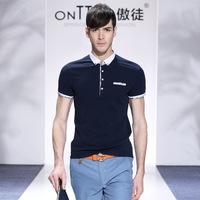 new arrival 2014 men big size fashionable new famous brand casual t shirt moda camisetas xxxl short sleeve tee shirts