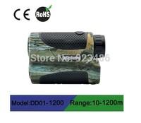 Free shipping monocular laser range finder 1200m waterproof