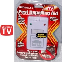 10pcs/lot Electronic Riddex Pest Control Pest Repelling Aid Pest Killer Ant Pest Repellent Plus As See On TV 110V/220V -- MTV40