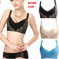 2014 New Arrival High Quality  embroidery Bra Women Super Push Up Bra Sexy Adjustment Bras BCDE cup  free shipping!