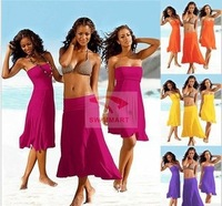 Women dress sexy bikini skirt beachwear many color swimwear cover up 2014 new can be different style fashion