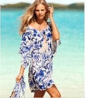 Bikini For Women Dress Blue Sexy Beach Cover Up Skirt Swimwear Tankini Sexy 2014 new !!