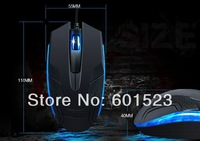 Free shipping max 1600DPI both hands use usb wired Entry-level game mouse optical mouse