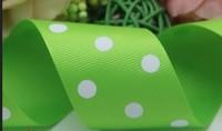 38mm aesthetic round dot  print ribbon DIY belt handmade accessory 100 yard