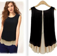 S-XL blouses shirts free shipping Plus size Women chiffon shirt women blouse & shirts blouses new in 2014 women clothing blusas