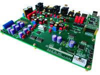 ES9018 DAC fiber USB I2S BNC Coaxial fiber USB DSD PCM384K soft control board with four layer board design DIY Kit