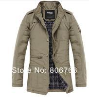 Autumn winter stand collar wadded jacket slim cotton-padded jacket men thin cotton-padded jacket men cotton-padded coat men