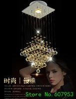 Free shipping  20cm*20cm*H75cm LED Modern Crystal Chandelier Light Fixture Crystal Pendant Ceiling Lamp   sent by DHL or FedEx
