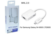 Brand New MHL 2.0 Micro USB to HDMI HDTV Adapter for Samsung Galaxy S4 S3 Note 2 White