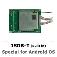 Built in ISDB-T Digital TV Module special for EK Android Devices, Multi touch control android menus