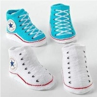 Free shipping baby kids fashion indoor socks convers antiskid socks for 3-18M infant CL0098