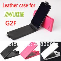Hot !!! Original Up-Down Flip PU Leather Case For Jiayu G2F, Free Shipping