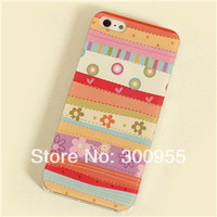 Various Painted Pattern Hard Back Skin Case Cover for cell phone  BJD208 (5C)