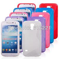Galaxy SV S5 Rubber TPU Case , Anti-skid S Line Soft TPU Gel Back Cover For Samsung Galaxy S5 SV i9600 ,500pcs/lot free shipping