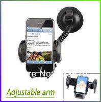 Car Windshield Bracket Mount Holder For HTC one for iPhone 4 4s 5 5s 5c for Samsung Galaxy S5 S4 i9500 S3 i9300 Note 2 3