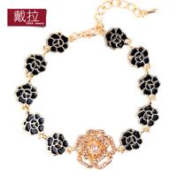 fashion Bracelet women's sweet decoration bracelet all-match 14k gold full rhinestone rose accessories TB001