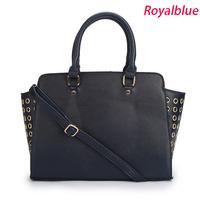 High quality Zipper women leather handbags cross body Bags New 2014 Top Brand M*KS women Messenger bags Fashion Purses With logo