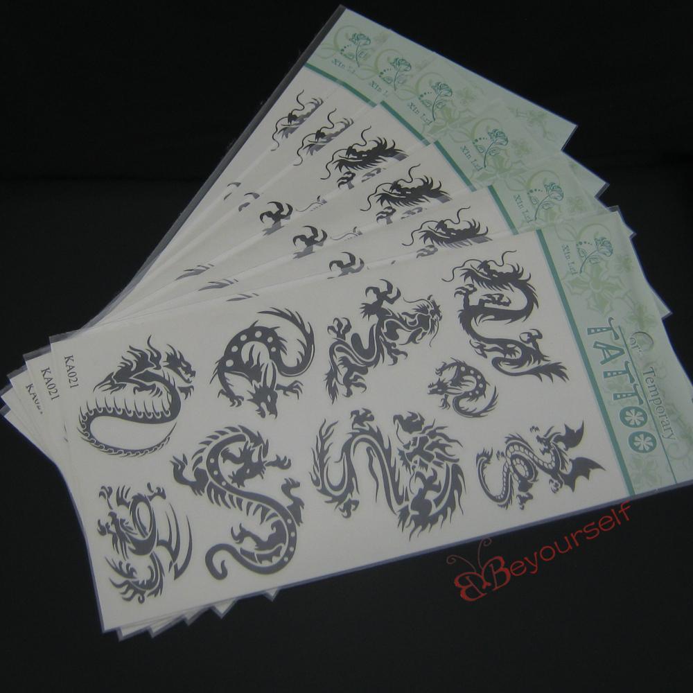 все цены на Временная татуировка Beyourselfhere 24 /s87 KA021 10x20.5cm онлайн