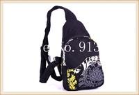 High Quality Designer Bags Handbags Women Messenger Bags Chest Travel Bags Black Handbag Cotton Ethnic Style 2014 New Gifts