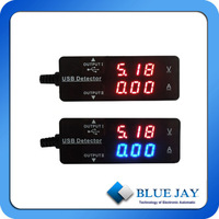 10PCS USB Type VA Meter For Mobile, PC,Current, Voltage Monitoring  Ship TO Poland By DHL