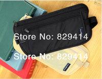 Hot sale! black Nylon outdoor fun & sports wallets men and women waist pack