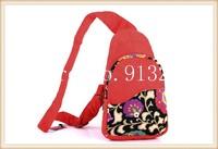 2014 New! Original Vintage Designer Messenger Bags Red Chest Handbags Women Sling Bag Ethnic Tribal Cotton Unique Gift for Her