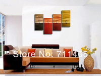 3 Size Free shipping/ Framed hand Hand-painted Abstract 4pcs Group Oil Painting on Canvas Art home decoration A-374
