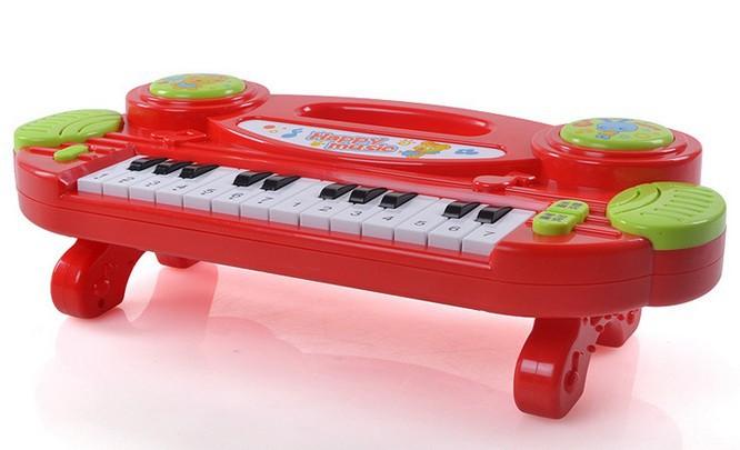 Klavier kunststoff säugling klavier kid musikspielzeuge kinder