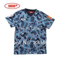 New fashionable 2014 sochi russian bosco sport russia men FIT men's fitness tee shirt sport casual slim short for men t-shirts