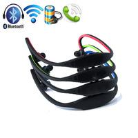 Sport Headphones Wireless Bluetooth Headset Running Earphone Handsfree for iPhone 5S Samsung Galaxy Note 3 HTC Nokia Cell Phone