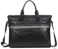 2014 men commercial laptop bag briefcase men's bag horizontal shoulder style quality bag casual handbag 6872-1