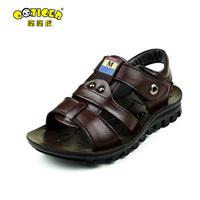 Dearie male child sandals child sandals cowhide genuine leather children shoes child summer