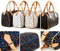 Fashion women's handbag fashion classic large check plaid bags female luxury work bag women's messenger bags