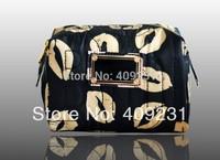 women's cosmetic bag mj makeup handbag large capacity cosmetic case candy color lipstick nylon cosmetic box waterproof